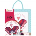 Pix Gallery Kit de bordado mariposa