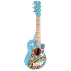 Guitarra Flower Power