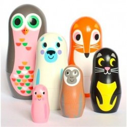 Animal Matryoshka II